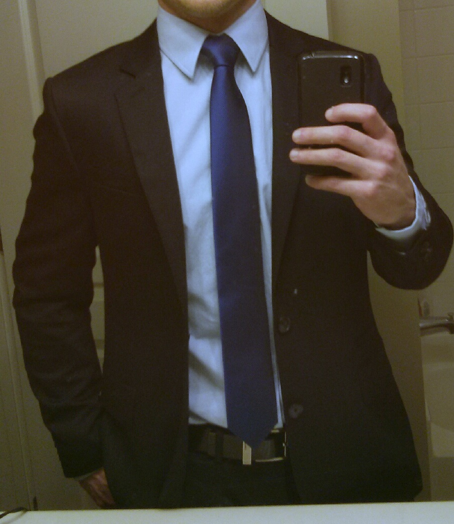 Does this suit/tie/shirt combination work?