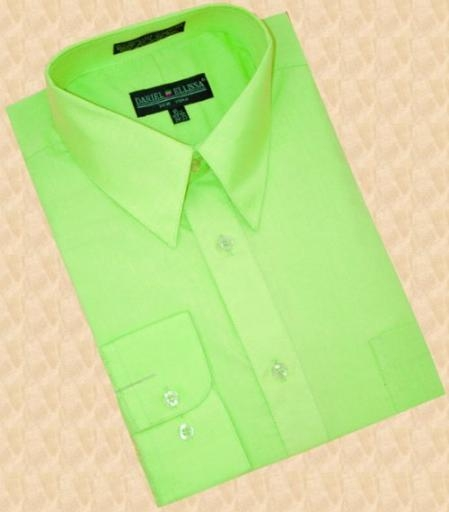 Lime Green Mens Shirt Photo Album - Fashion Trends and Models