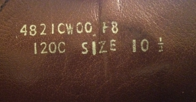 jfelixg's photos in HOF: Labels, heels and nail patterns - Secrets to ID the maker