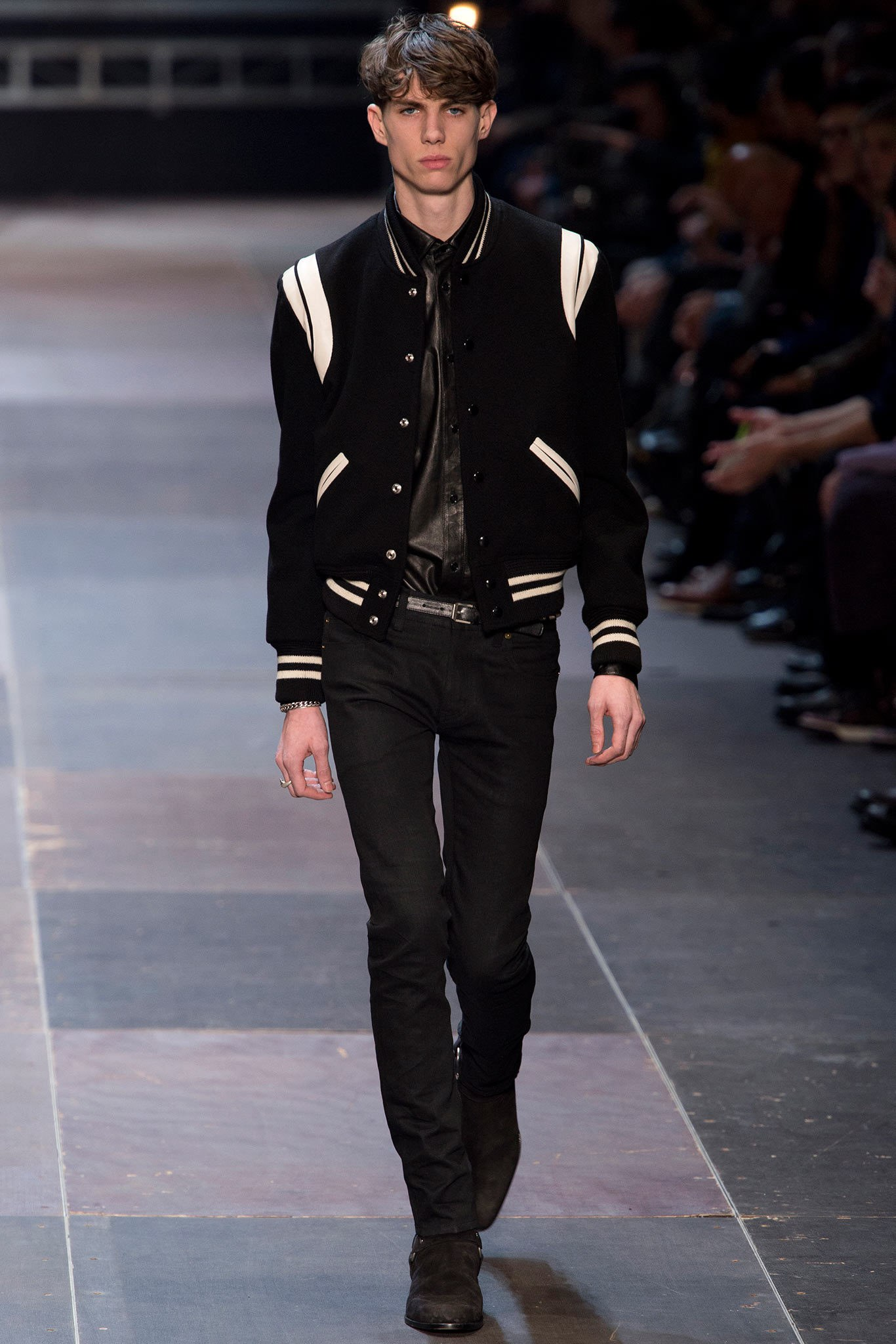 Saint Laurent FW 2013 runway teddy