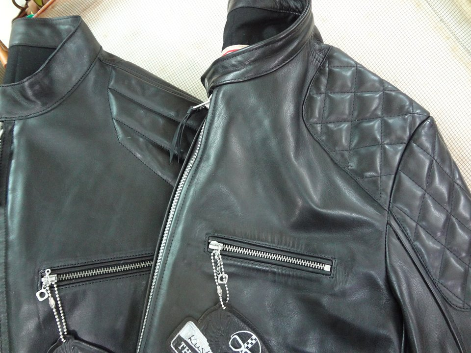 Thedi Leathers Cafe' Racers!